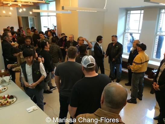 JANM's Tateuchi Democracy Forum in LA on April 8, 2015. Photo by Lia Chang