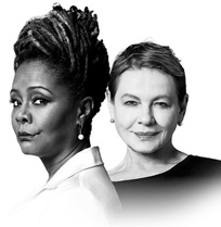 Tonya Pinkins and Dianne Wiest
