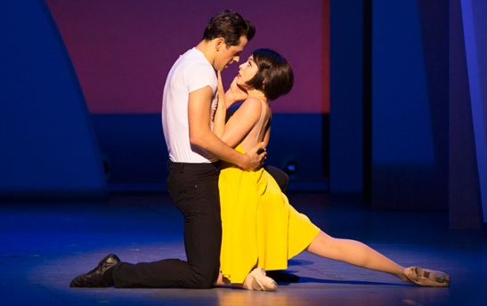 Robert Fairchild and Leanne Cope in 'An American in Paris' (Photo: Angela Sterling)