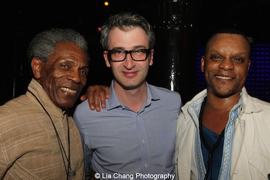 André De Shields, Daniel Aukin and Kevin Mambo. Photo by Lia Chang