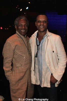 André De Shields and Kevin Mambo. Photo by Lia Chang