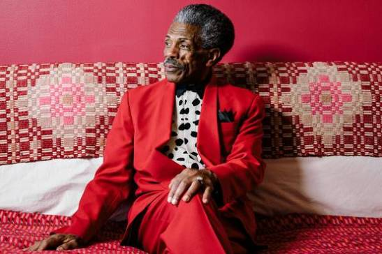 Actor-dancer André De Shields in his 39th-floor Manhattan apartment. PHOTO: AXEL DUPEUX FOR THE WALL STREET JOURNAL