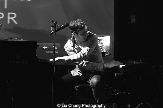 Musical Director Brian Nash. Photo by Lia Chang