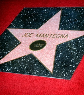 Joe Mantegna received a star on the Hollywood Walk of Fame in April, 2011. Photo courtesy of the Joe Mantegna Website