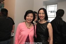 Elizabeth Sung and Lia Chang at JANM's Tateuchi Democracy Forum in LA on April 8, 2015. Photo by Marissa Chang-Flores