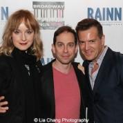 Erin Davie, Garth Kravits and Stephen Bienskie. Photo by Lia Chang