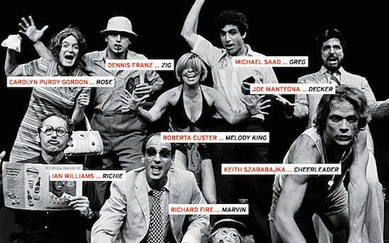 The cast of Bleacher Bums. Photo: Stuart Gordon/Chicago Tribune
