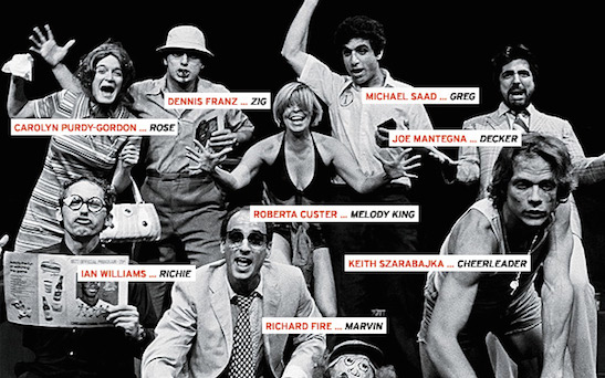The cast of Bleacher Bums. Photo: Stuart Gordon/Chicago Tribune