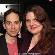 Garth Kravits and Colleen Harris. Photo by Lia Chang