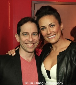 Garth Kravits and Laura Benanti. Photo by Lia Chang