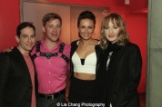 Garth Kravits, Michael Buchanan, Laura Benanti, Erin Davie. Photo by Lia Chang