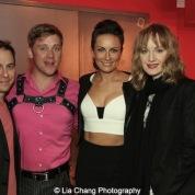 Garth Kravits, Michael Buchanan, Laura Benanti, Erin Davie. Photo by Lia Chang