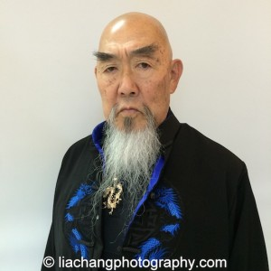 Big Trouble in Little China cast member Gerald Okamura at JANM's Tateuchi Democracy Forum in LA on April 8, 2015. Photo by Lia Chang
