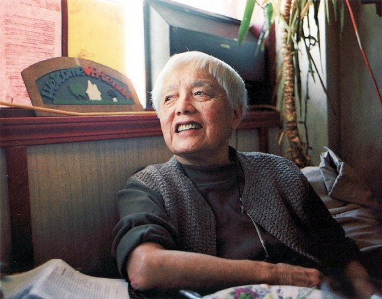 Grace Lee Boggs. Credit: Quyen Tran.