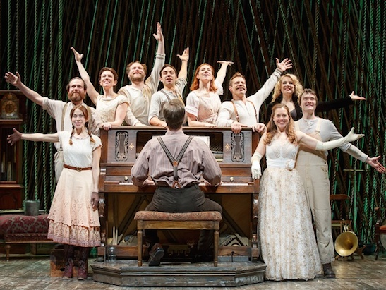 The cast of Into the Woods. Photo by Joan Marcus