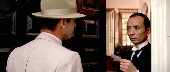 James Hong, Jack Nicholson in Chinatown Copyright: © 1974 Paramount Pictures