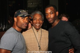 Jahi Kearse, André De Shields and Britton Smith. Photo by Lia Chang