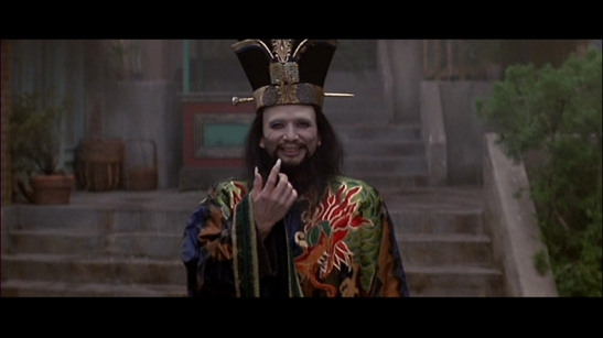 James Hong as David Lo Pan in BIG TROUBLE IN LITTLE CHINA