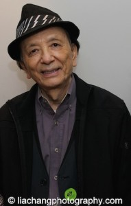 James Hong. Photo by Lia Chang