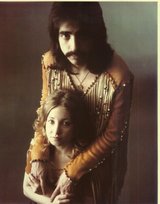 Joe Mantegna and his wife Arlene in 1972 during their run of the Chicago production of Hair. Photo courtesy of the Joe Mantegna Website