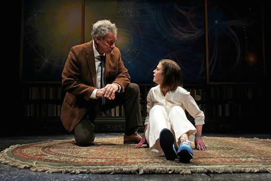 John de Lancie and Emily James in Mr. Wolf by Rajiv Joseph. Photo by Debora Robinson/SCR.