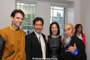 Josh Horowitz, Peter Kwong, Lia Chang, Gerald Okamura at JANM's Tateuchi Democracy Forum in LA on April 8, 2015. Photo by Marissa Chang-Flores.