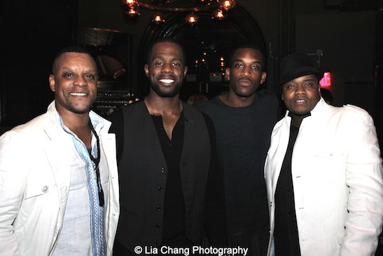 Kevin Mambo, Akron Watson, Britton Smith and Juson Williams. Photo by Lia Chang