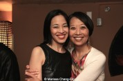 Lia Chang and Jeanne Sakata at Far Bar in LA on April 8, 2015. Photo by Marissa Chang-Flores