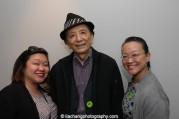 Marissa Chang-Flores, James Hong and Tami Chang at JANM's Tateuchi Democracy Forum in LA on April 8, 2015. Photo by Lia Chang