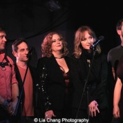 Michael Buchanan, Garth Kravits, Julie James, Erin Davie, Scott Alan, Colleen Harris. Photo by Lia Chang