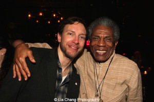 Michael Friedman and André De Shields. Photo by Lia Chang