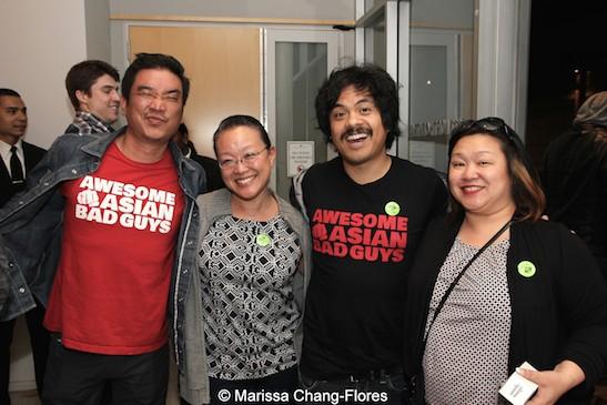 Milton Liu, Tami Chang, Patrick Epino and Marissa Chang Flores at JANM's Tateuchi Democracy Forum in LA on April 8, 2015. Photo by Lia Chang