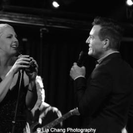 Natalie Joy Johnson and Stephen Bienskie. Photo by Lia Chang
