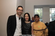 Oliver Ike, Lia Chang, Ewart Chin at JANM's Tateuchi Democracy Forum in LA on April 8, 2015. Photo by Marissa Chang-Flores.
