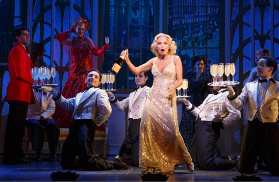 Kristin Chenoweth stars in 'On the Twentieth Century' on Broadway (Photo: Joan Marcus)