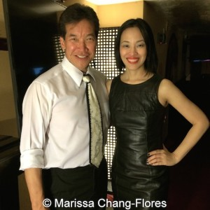 Peter Kwong and Lia Chang at Far Bar in LA on April 8, 2015.