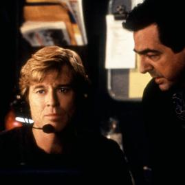 UP CLOSE AND PERSONAL, Robert Redford, Joe Mantegna, 1996, (c)Buena Vista Pictures