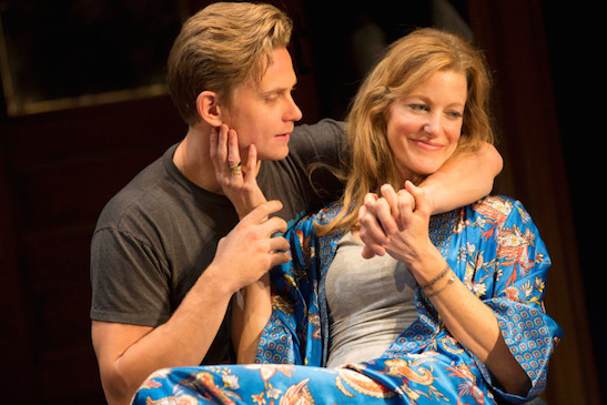 Anna Gunn and Billy Magnussen in Second Stage Theatre's
