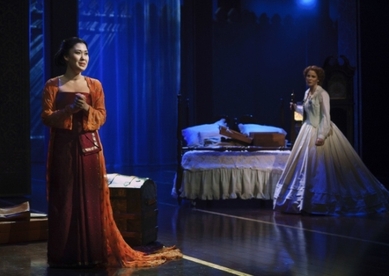 Ruthie Ann Miles and Kelli O'Hara. Photo by Paul Kolnik