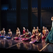 Ruthie Ann Miles, Kelli O'Hara and company. Photo by Paul Kolnik