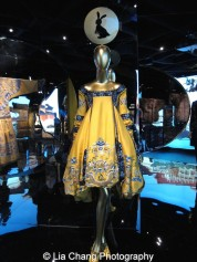 House of Dior (French, founded 1947) John Galliano (British, born Gibraltar, 1960) Dress, autumn/winter 1998–99 haute couture Yellow silk damask embroidered with polychrome silk and gold metallic thread Courtesy of Christian Dior Couture. Photo by Lia Chang