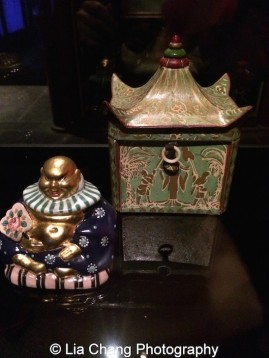 """Perfume bottles on display in """"China: Through the Looking Glass"""" at The Metropolitan Museum of Art in New York. Photo by Lia Chang"""