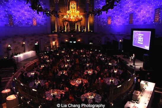 China Institute's Blue Cloud Gala at Gotham Hall in New York on May 29, 2015. Photo by Lia Chang