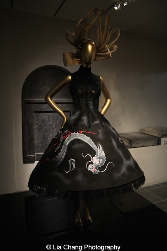 Gallery View Chinese Galleries, Charlotte C. Weber Galleries, Ancient China- Dress, House of Givenchy (French, founded 1952), autumn/winter 1997-98 haute couture; Courtesy of Givenchy. Photo by Lia Chang