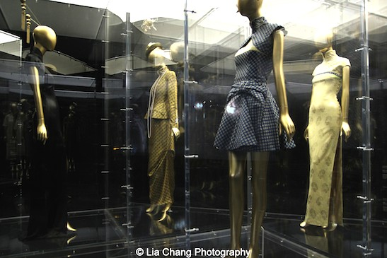 Modern day qipao designs by Jean Paul Gaultier and John Galliano for the House of Dior.