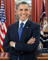 President Barack Obama Credit: Wikipedia