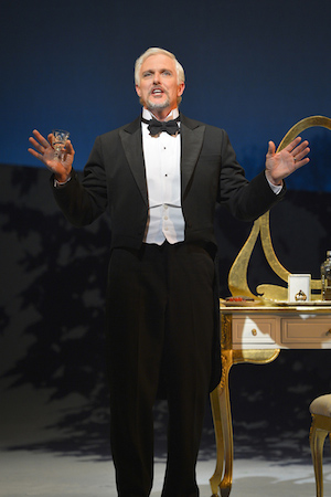 Fredrik Egerman (Patrick Cassidy) in Stephen Sondheim and Hugh Wheeler's A Little Night Music performing at A.C.T.'s Geary Theater May 20–June 14. Photo by Kevin Berne.
