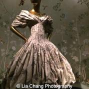 Alexander McQueen (British, 1969–2010) Dress, autumn/winter 2006–7 Cream and polychrome silk brocade Courtesy of Alexander McQueen. Photo by Lia Chang