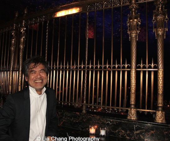 David Henry Hwang hosted the China Institute's Blue Cloud Gala at Gotham Hall in New York on May 29, 2015. Photo by Lia Chang