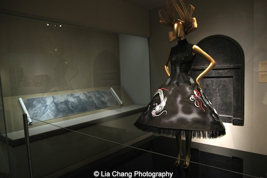 Gallery View Chinese Galleries, Charlotte C. Weber Galleries, Ancient China Dress, House of Givenchy (French, founded 1952), autumn/winter 1997-98 haute couture; Courtesy of Givenchy. Photo by Lia Chang